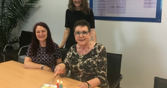 Talented trio celebrates 10 years at SCQF