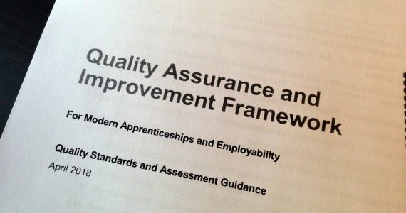 QA and Improvement Framework RAG Ratings