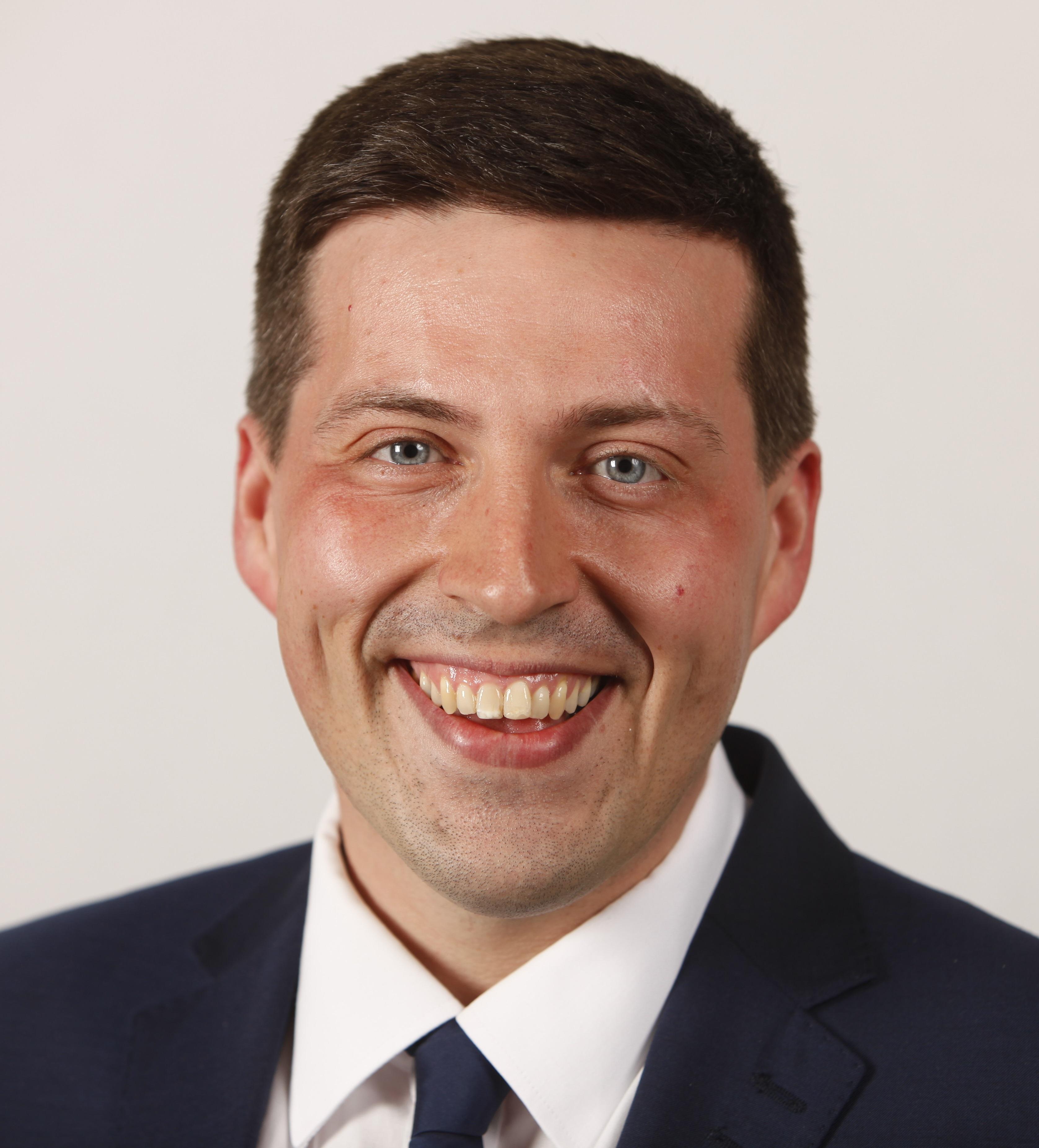 Jamie Hepburn - SNP - Cumbernauld and Kilsyth May 2016. Pic - Andrew Cowan/Scottish Parliament