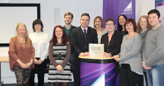 SCQF Partnership gets the Silver!