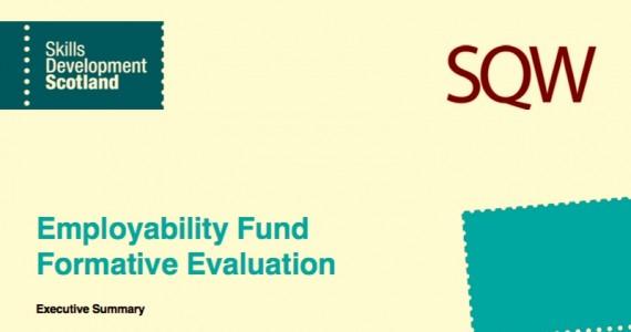 Employability Fund Evaluation published
