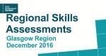 Update for Regional Skills Assessments