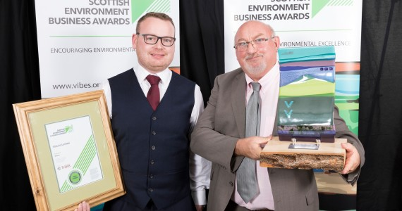 Sibbald is sustainability champion